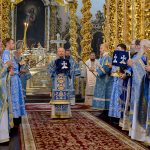 Торжественная Божественная литургия в честь Смоленской иконы Божией Матери «Одигитрия»