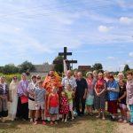 Благочинный Смолевичского церковного округа иерей Иоанн Ясюкевич совершил молебны у поклонных Крестов