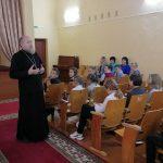 «Во избежание экологической катастрофы» — иерей Александр Лукьянович провёл урок в Ганцевичской школе