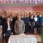 В Новоселковской средней школе священник поговорил с учащимися об экологии