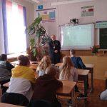 В аг. Зембин состоялся открытый диалог священника со старшеклассниками на тему христианского взгляда на экологию